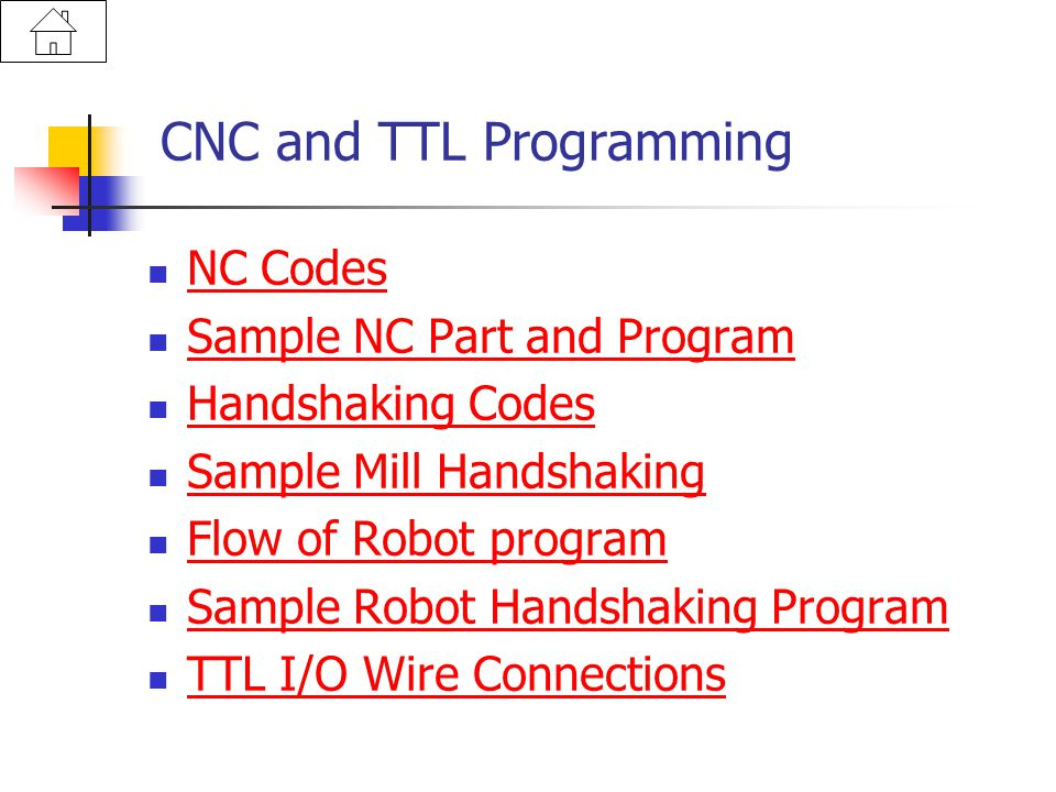 CNC and TTL Programming