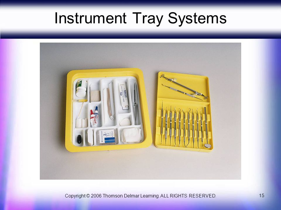 Instrument Tray Systems