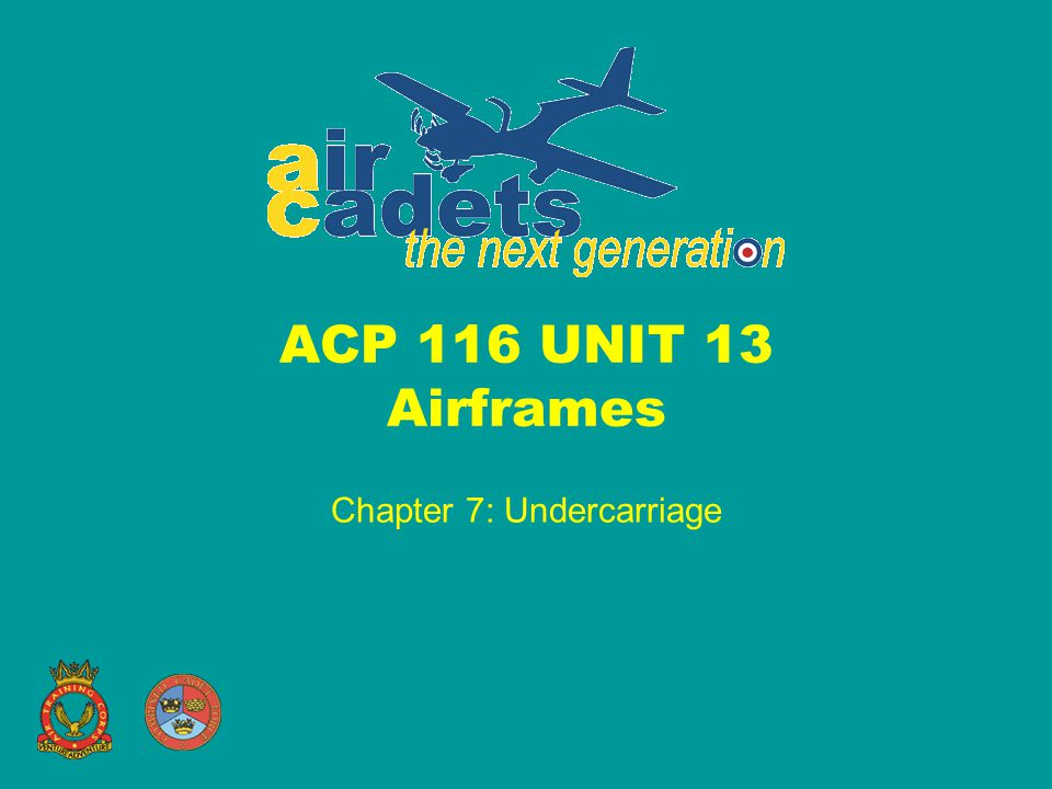 Chapter 7: Undercarriage