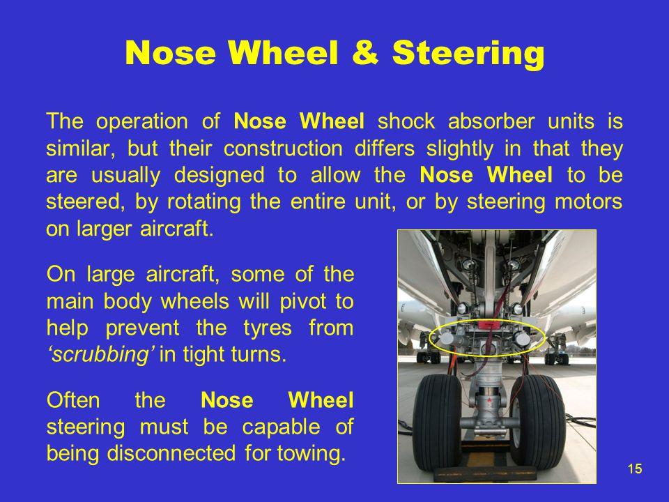 Nose Wheel & Steering