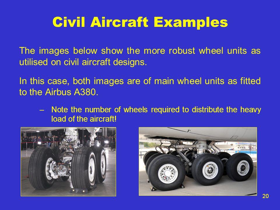 Civil Aircraft Examples