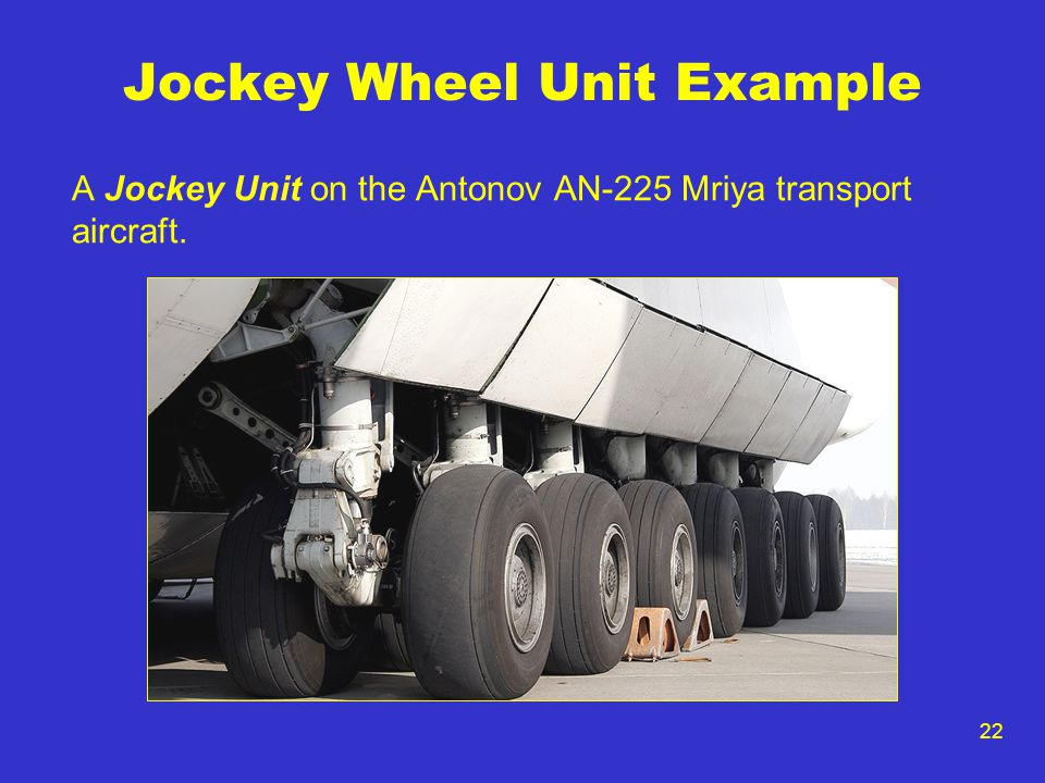 Jockey Wheel Unit Example