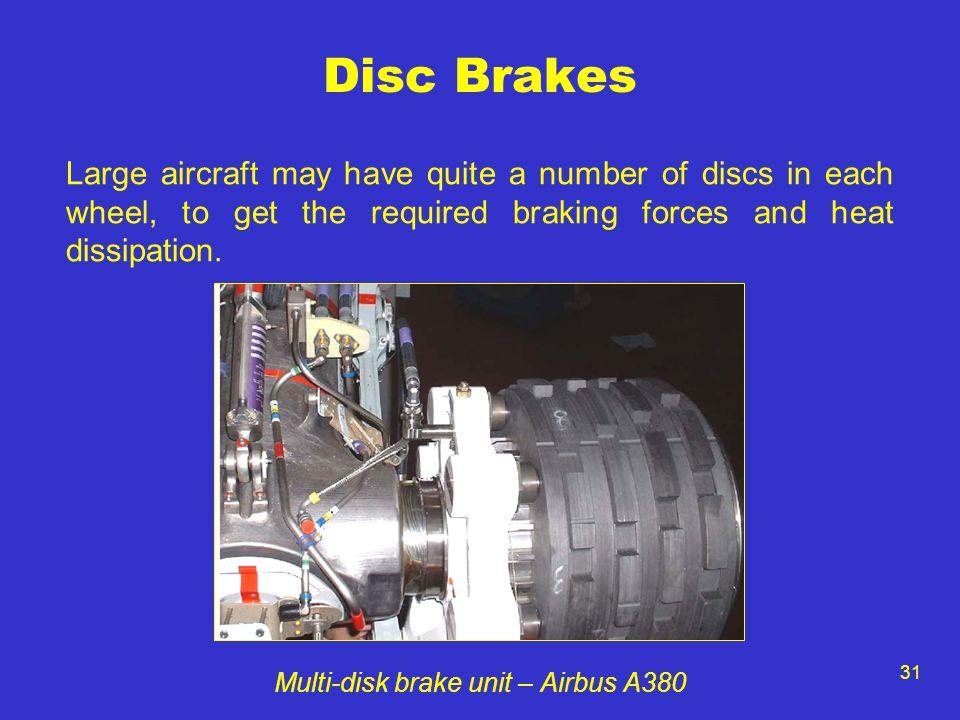 Multi-disk brake unit – Airbus A380