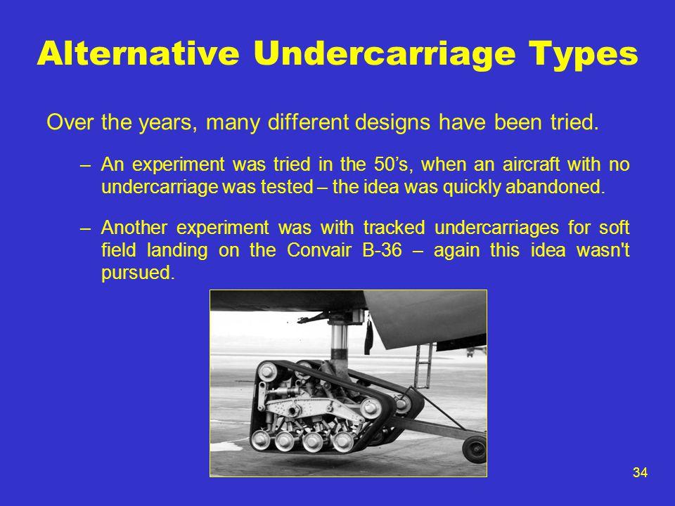 Alternative Undercarriage Types