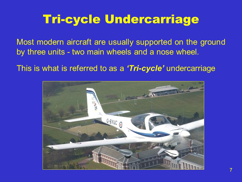 Tri-cycle Undercarriage