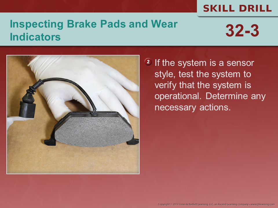 Inspecting Brake Pads and Wear Indicators