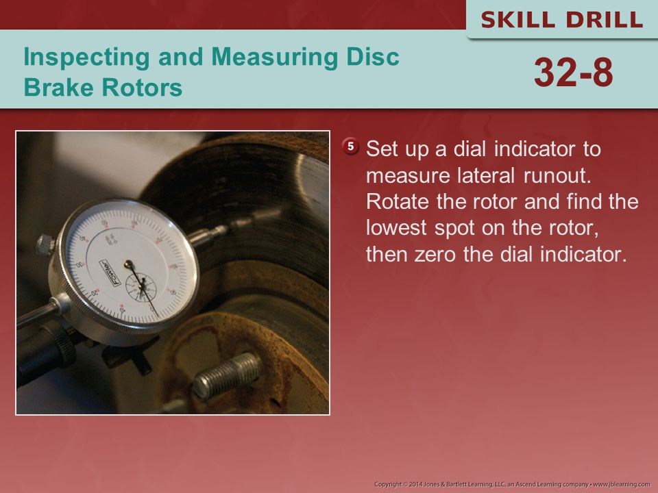 Inspecting and Measuring Disc Brake Rotors