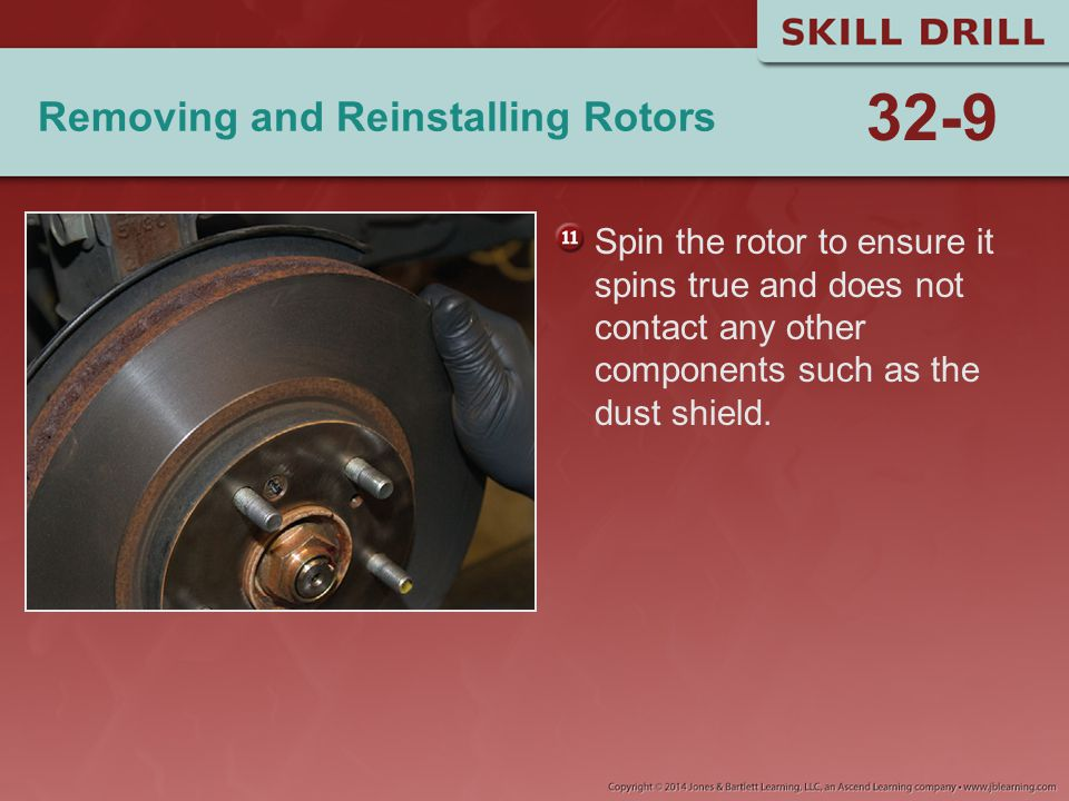 Removing and Reinstalling Rotors