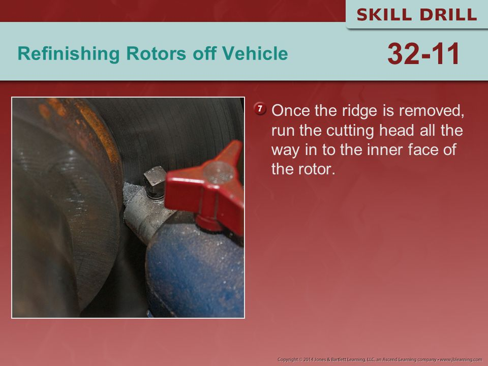 Refinishing Rotors off Vehicle