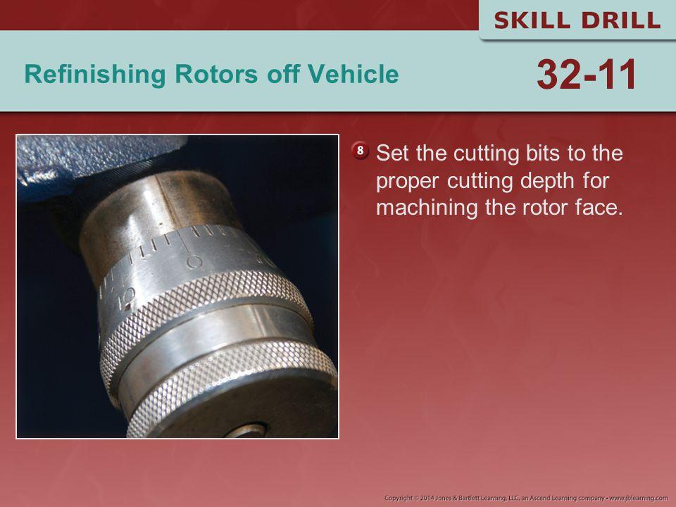 Refinishing Rotors off Vehicle