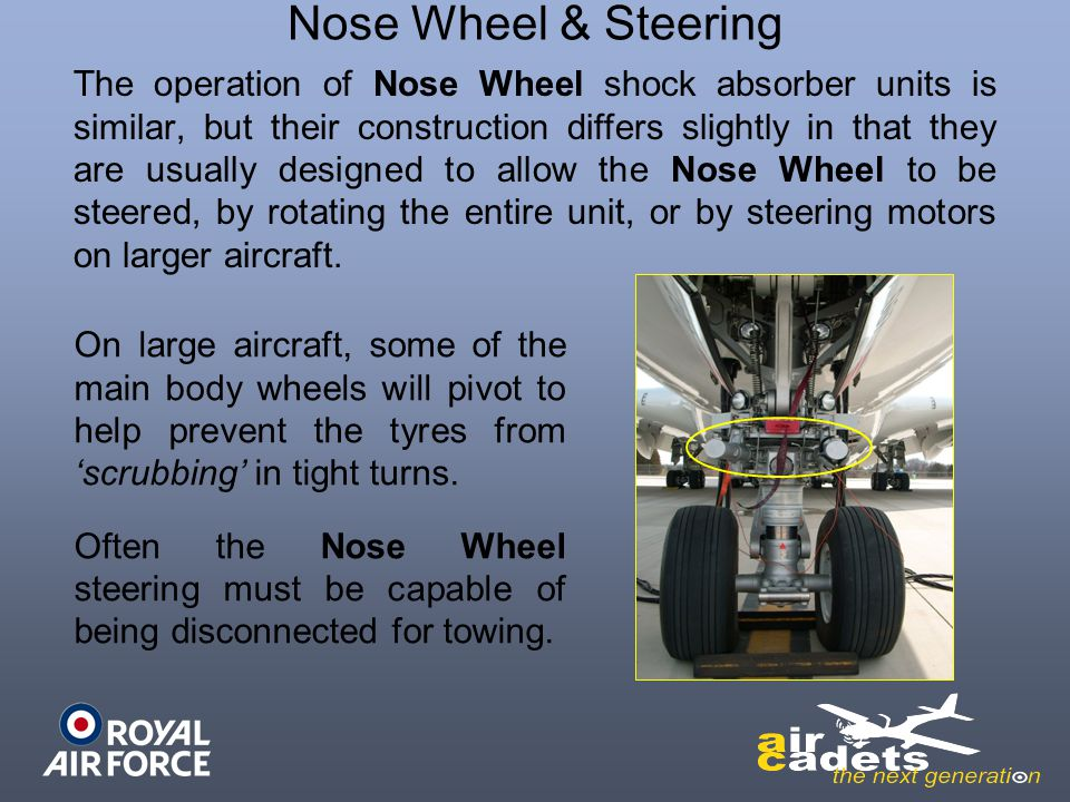 Nose Wheel & Steering