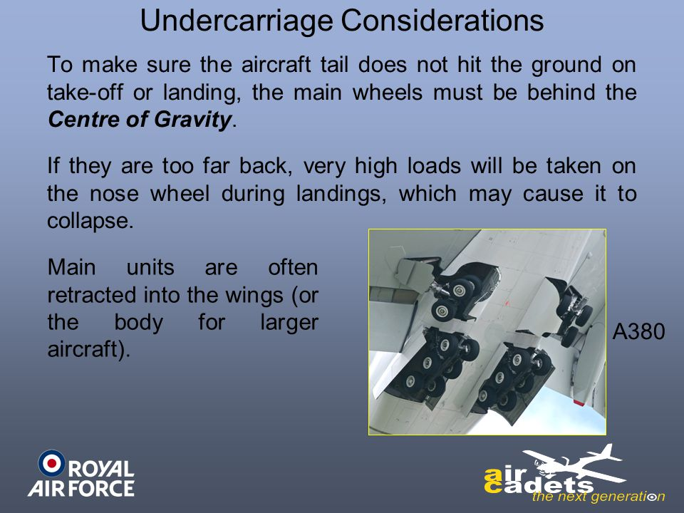 Undercarriage Considerations