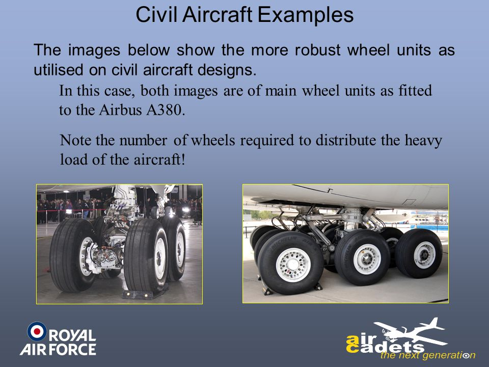 Civil Aircraft Examples