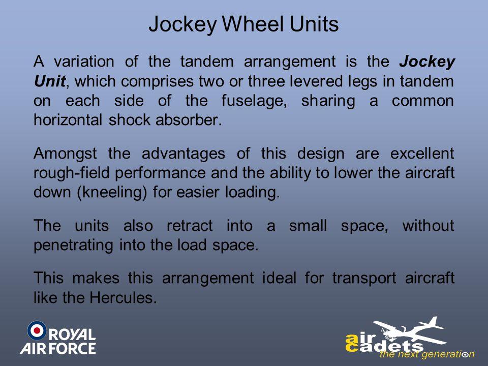 Jockey Wheel Units