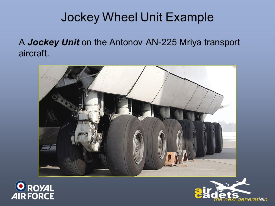Jockey Wheel Unit Example