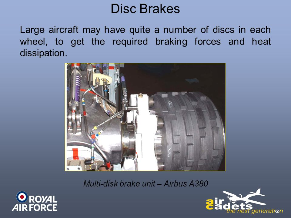 Multi-disk brake unit – Airbus A380