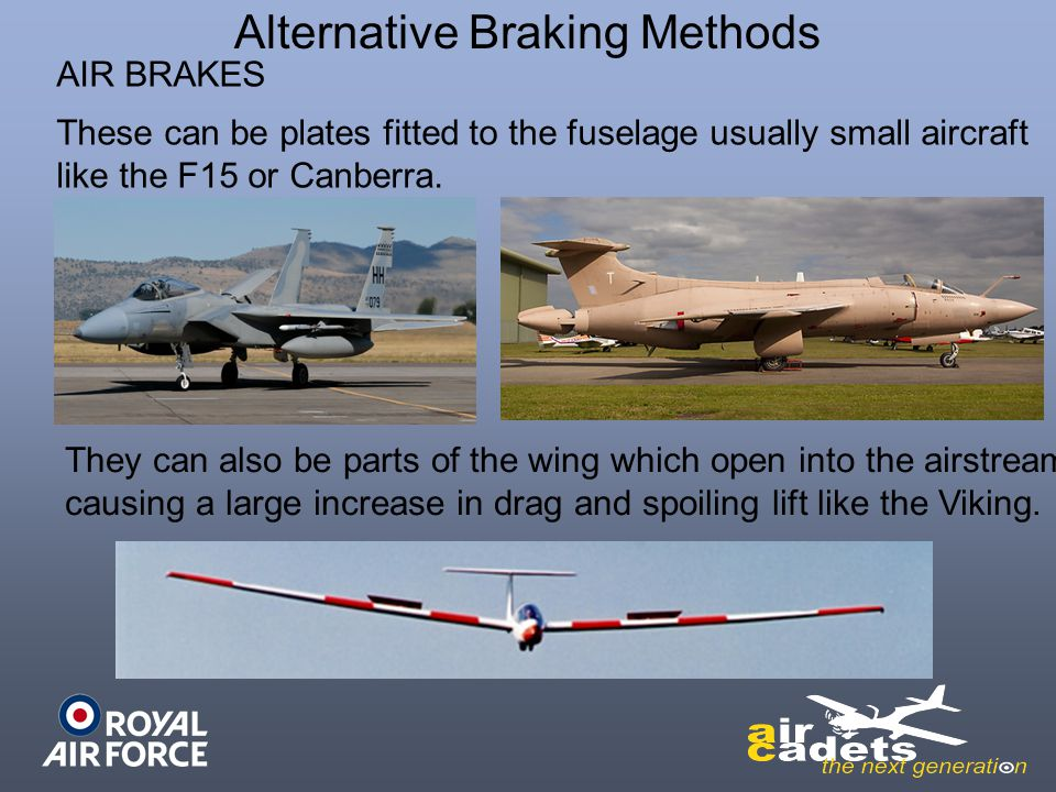 Alternative Braking Methods