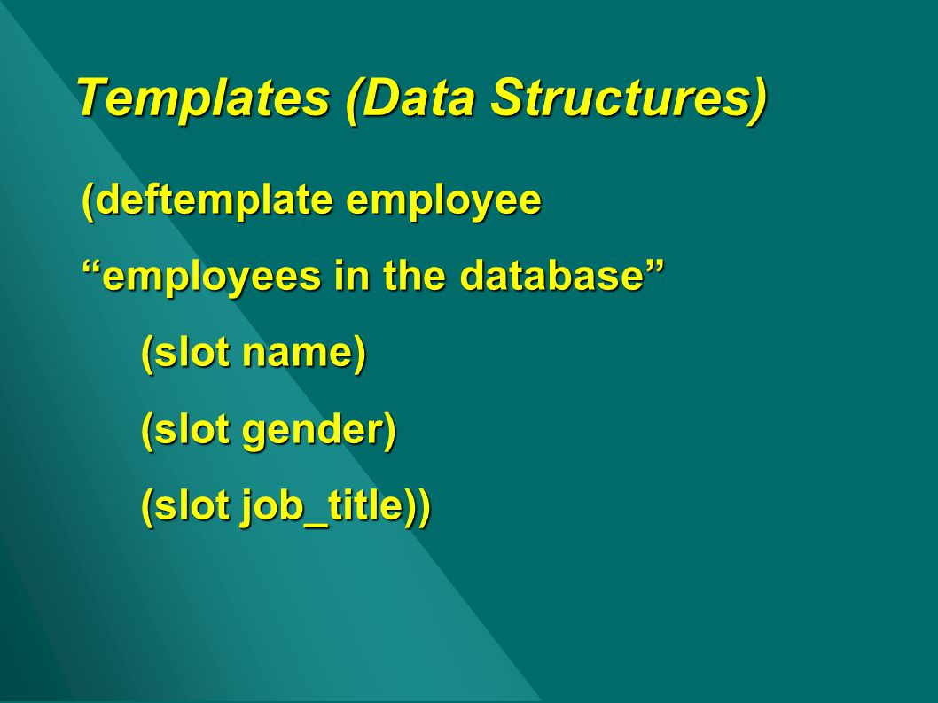 Templates (Data Structures)