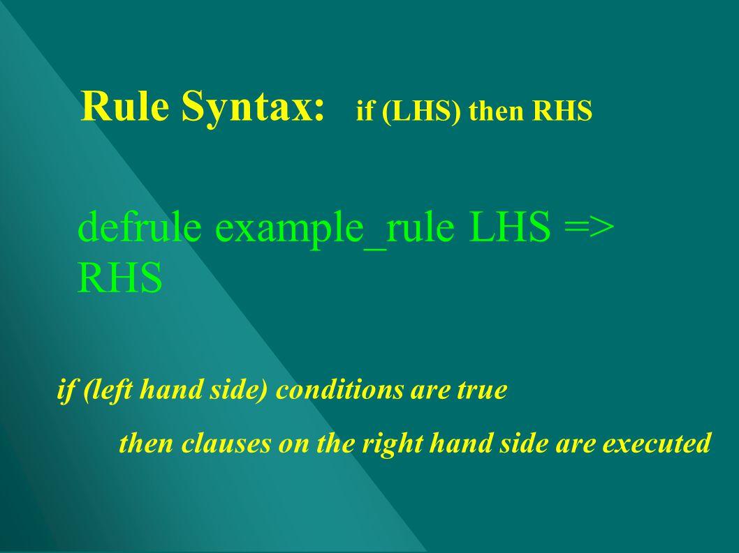 defrule example_rule LHS => RHS
