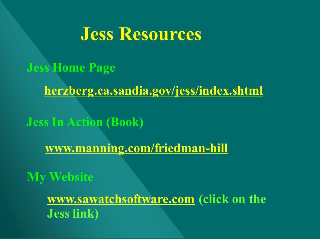 Jess Resources Jess Home Page herzberg.ca.sandia.gov/jess/index.shtml