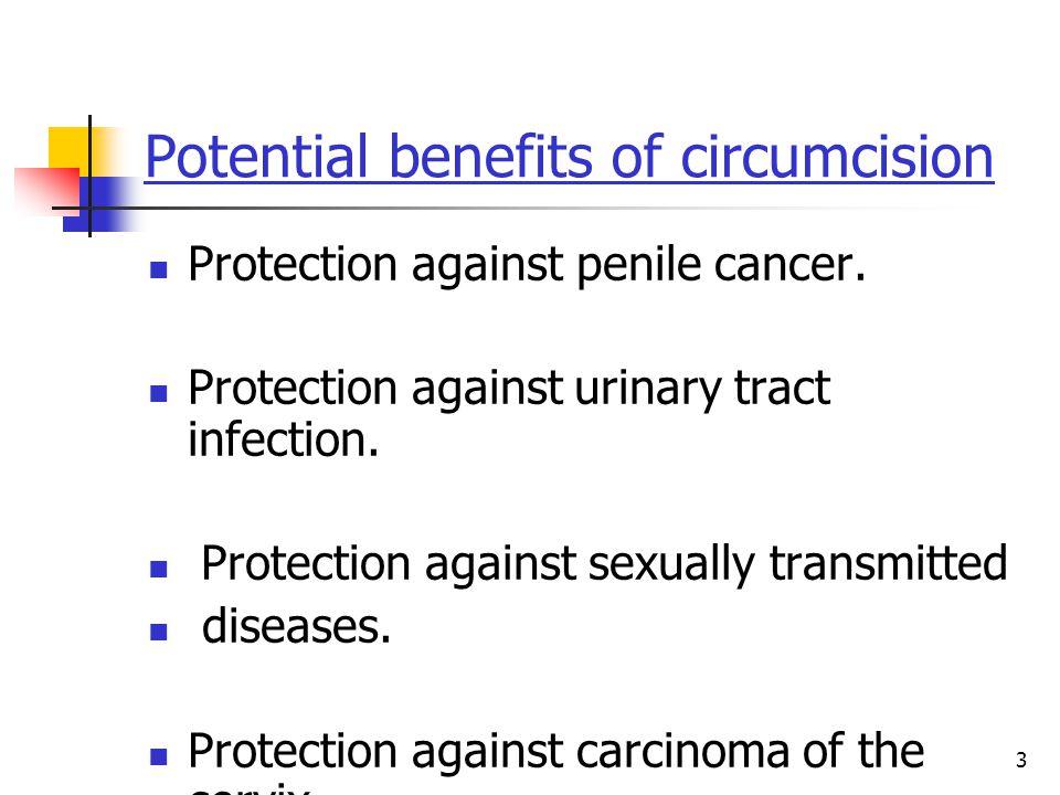 Potential benefits of circumcision