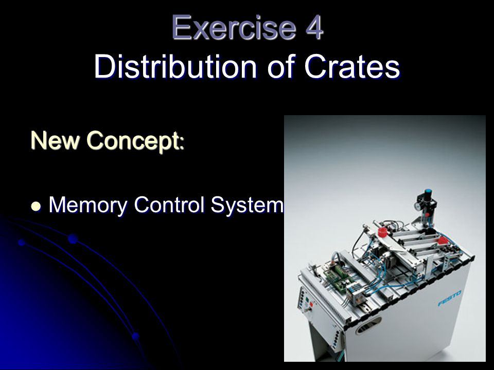 Exercise 4 Distribution of Crates