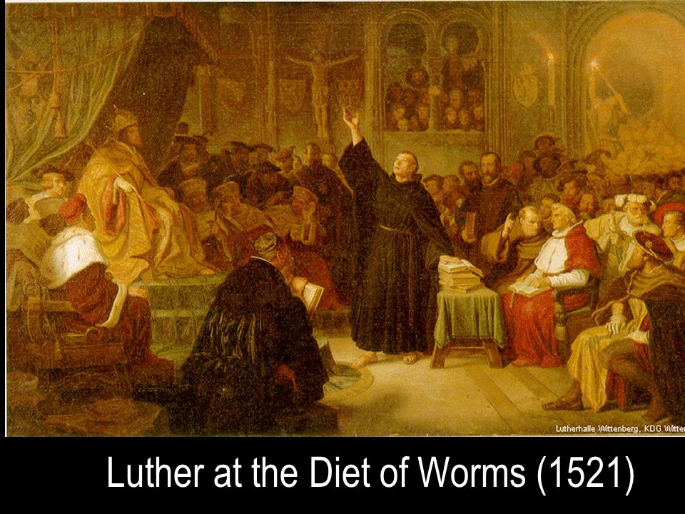 Luther at the Diet of Worms (1521)