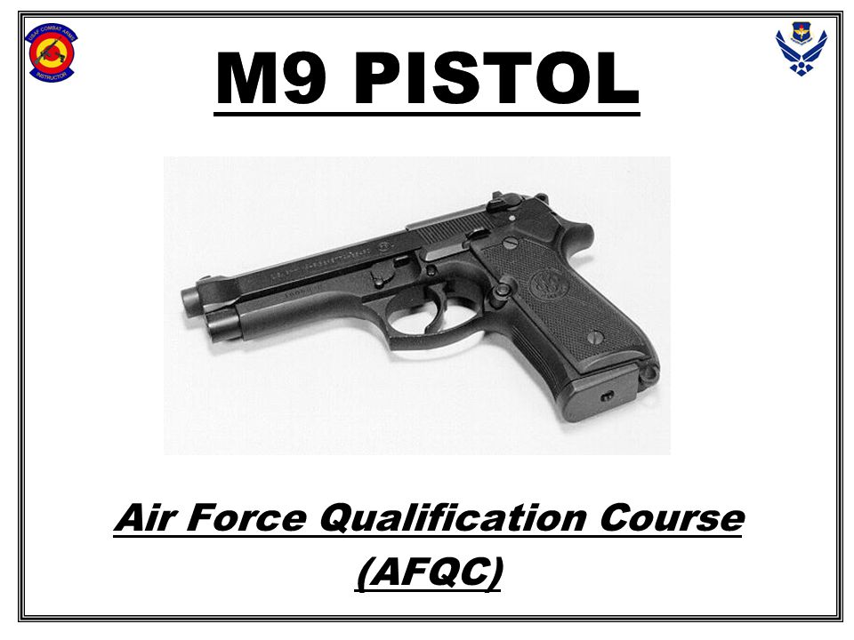 Air Force Qualification Course