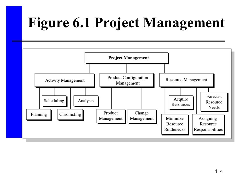 Figure 6.1 Project Management