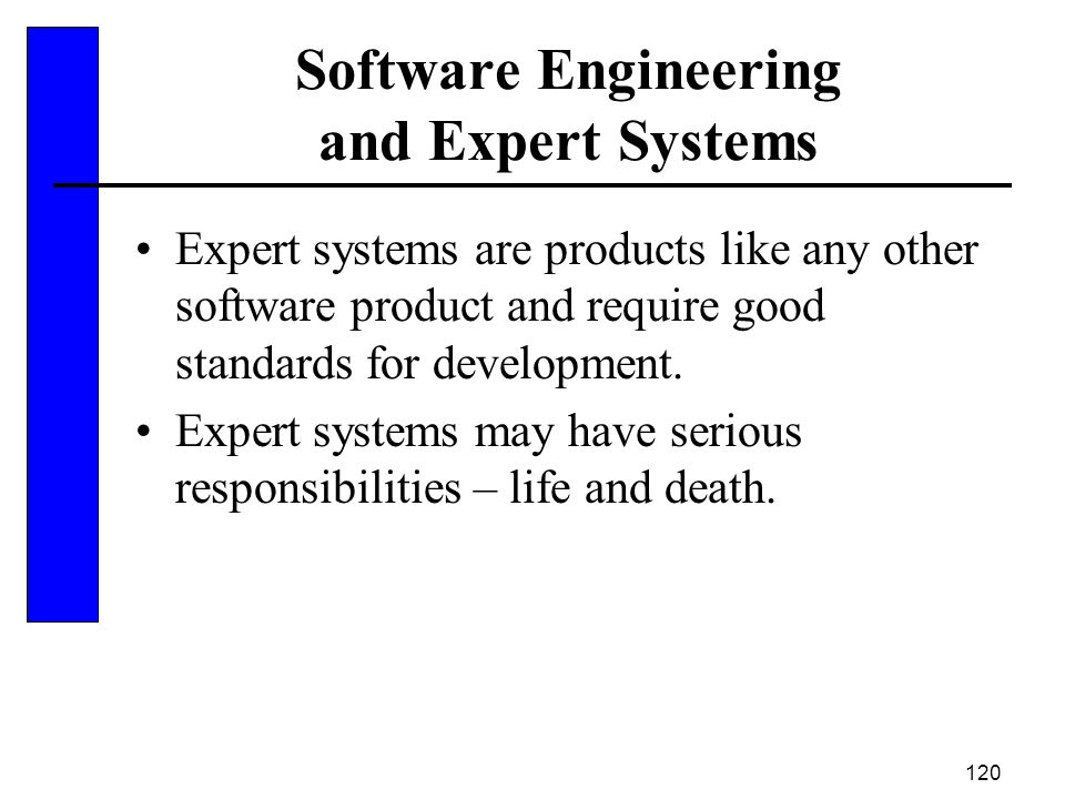 Software Engineering and Expert Systems