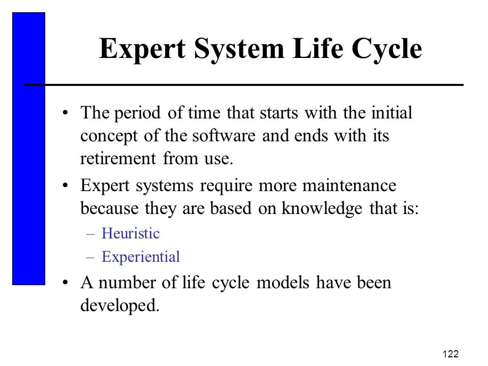 Expert System Life Cycle