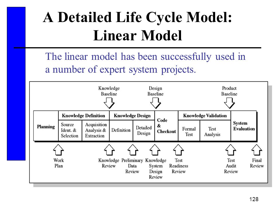 A Detailed Life Cycle Model: Linear Model