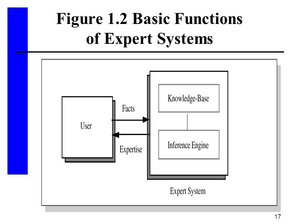 Figure 1.2 Basic Functions of Expert Systems