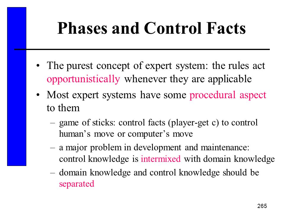 Phases and Control Facts