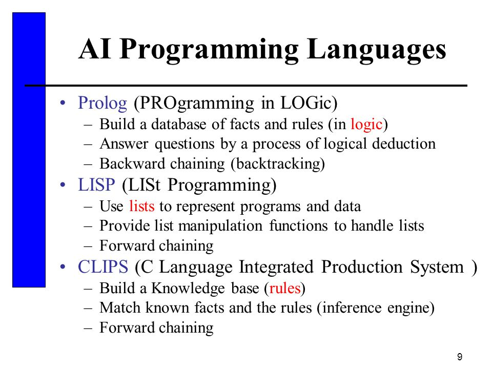 AI Programming Languages