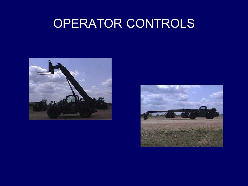 OPERATOR CONTROLS