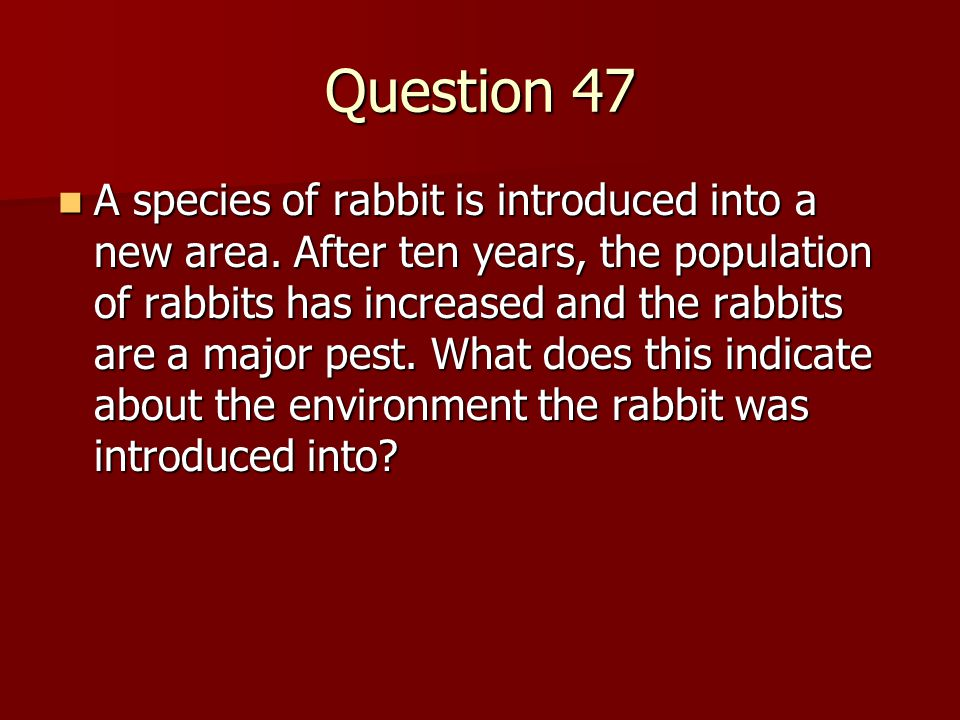 Question 47