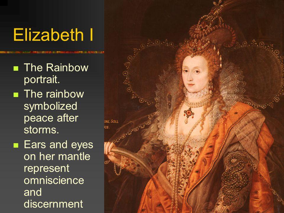 Elizabeth I The Rainbow portrait.