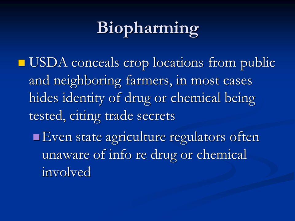 Biopharming