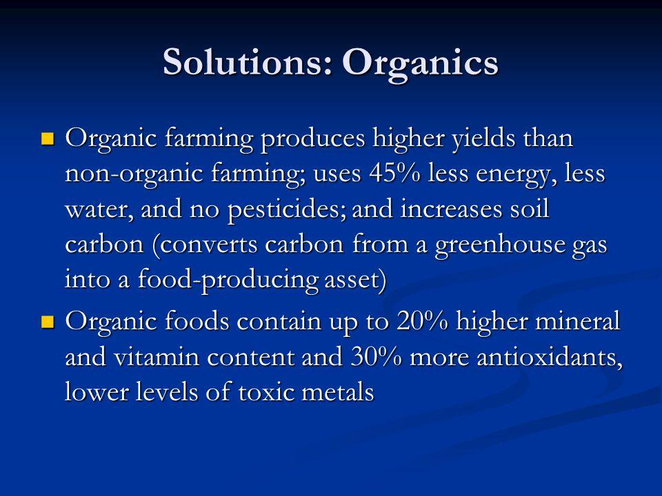 Solutions: Organics