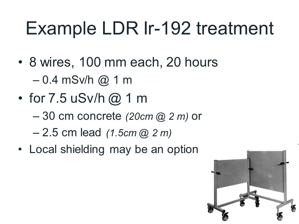 Example LDR Ir-192 treatment