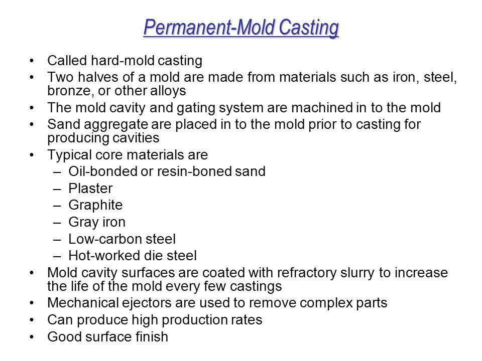 Permanent-Mold Casting