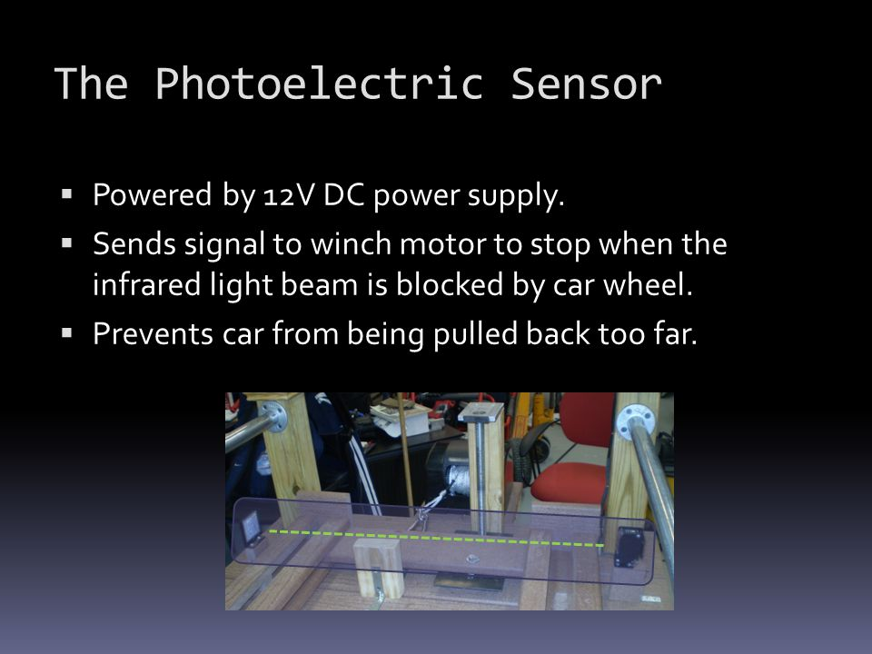 The Photoelectric Sensor
