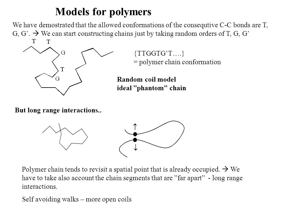 Models for polymers
