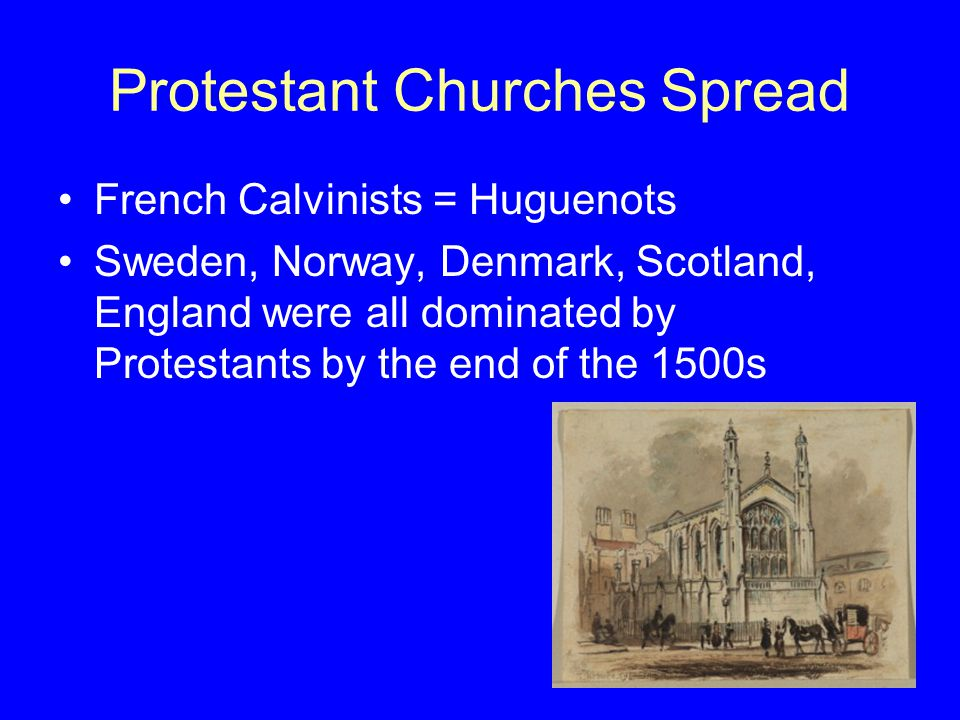 Protestant Churches Spread