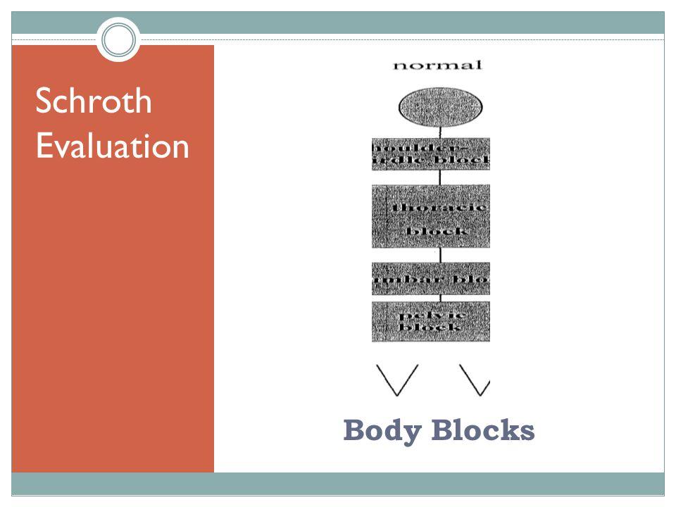 Schroth Evaluation Body Blocks