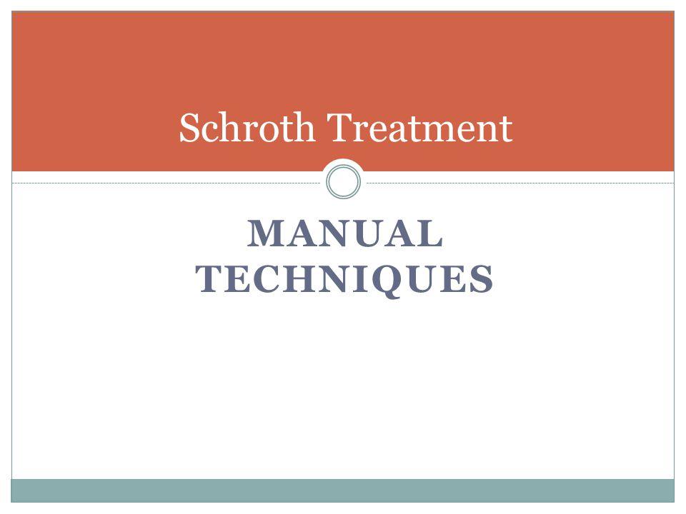 Schroth Treatment Manual Techniques