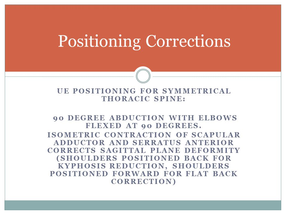 Positioning Corrections