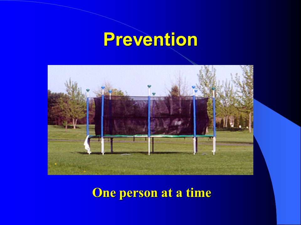 Prevention One person at a time