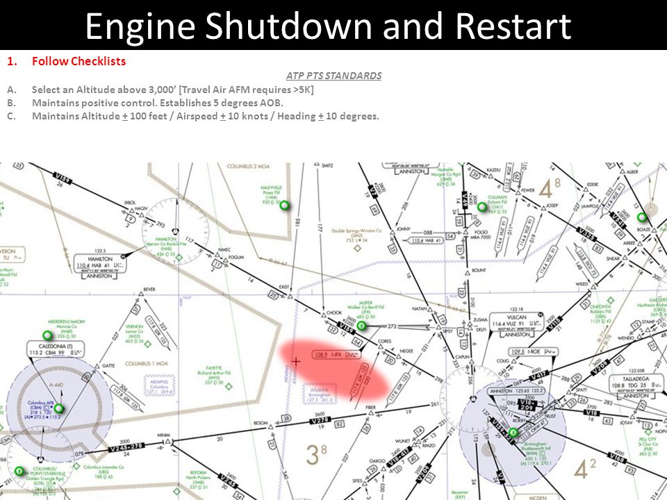Engine Shutdown and Restart